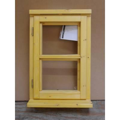 483x745mm Horizontal Bar Timber Window - WHN07C - Handing (e...